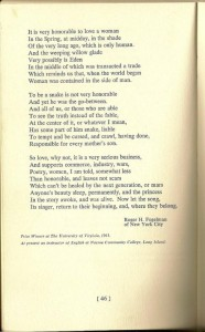 Excerpts from The Academy of American Poets - University and College Poetry Prizes Page 3 of 3